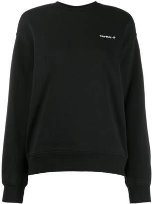Carhartt WIP embroidered logo sweatshirt