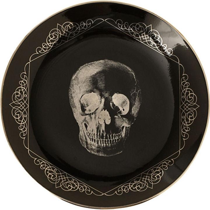 D. L. & Co. The Skull Little Porcelain Plates
