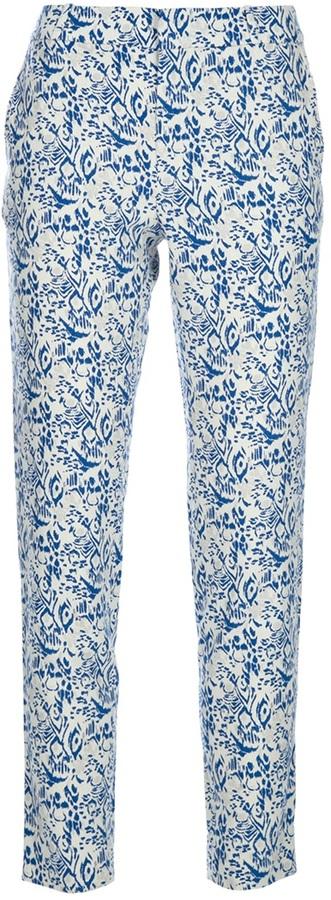 Vanessa Bruno Athé cropped silk trouser
