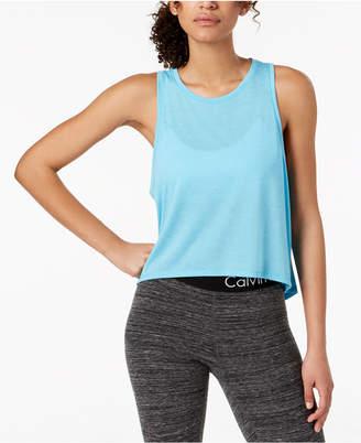 Calvin Klein Epic Knit High-Low Tank Top
