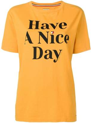 Tommy Jeans 'Have a nice day' T-shirt