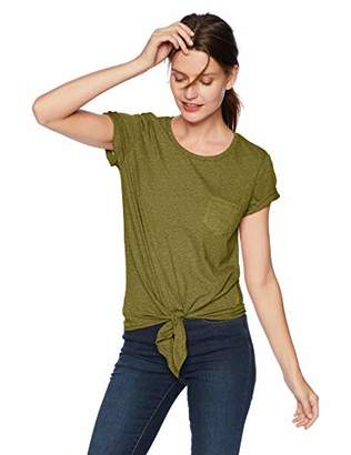 J.Crew Mercantile Women's Solid Tie Waist T-Shirt