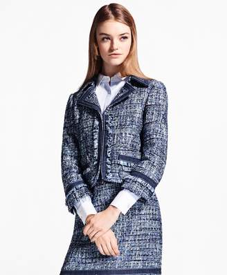 Brooks Brothers Shimmer Boucle Jacket