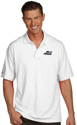 Antigua Men's Utah Jazz Pique Xtra-Lite Polo