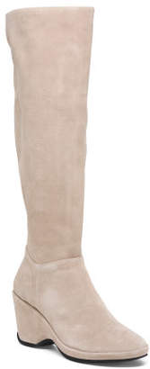 Soft Suede Memory Foam High Shaft Boots
