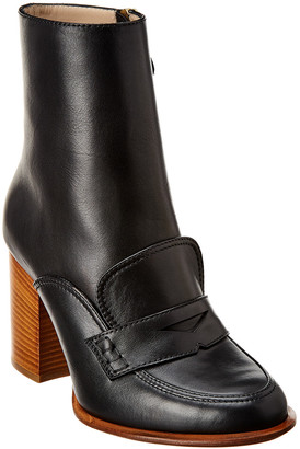 Loewe Leather Loafer Boot