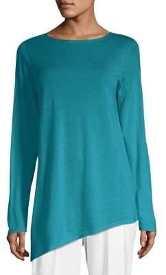Eileen Fisher Wool Cashmere& Silk Tunic
