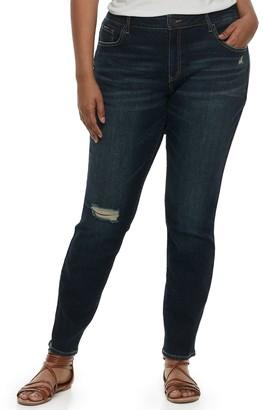 So Low So Juniors' Plus Rise Skinny Jeans