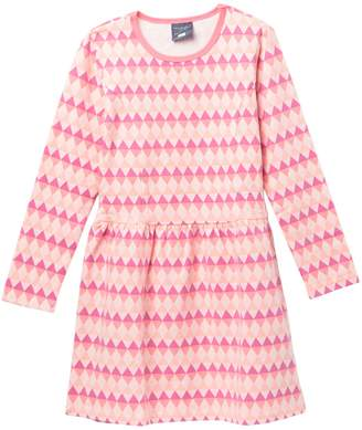Toobydoo Yukie Geo Print Skater Dress (Toddler, Little Girls, & Big Girls)