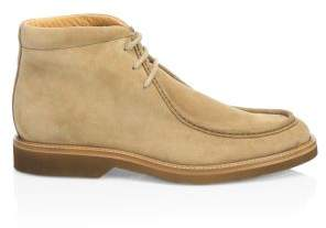 Saks Fifth Avenue COLLECTION Suede Contrast Sole Desert Boots