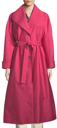 Etro Long Taffeta Trench Coat