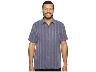 Tommy Bahama Zaldera Stripe Short Sleeve Woven Shirt Men's Short Sleeve Button Up