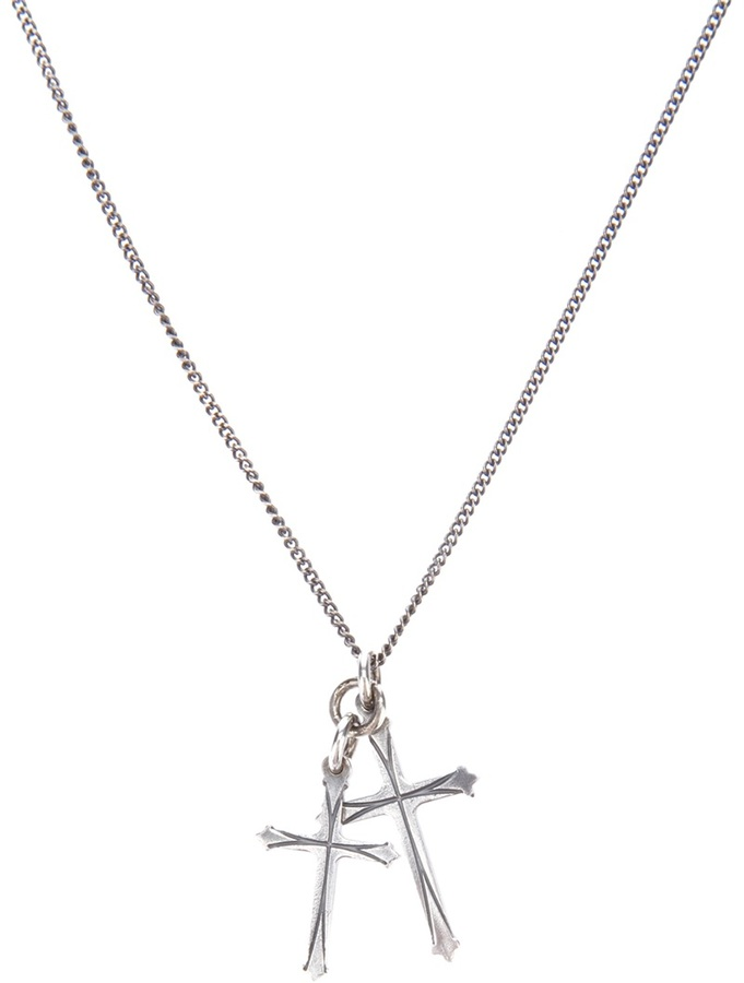 Emanuele Bicocchi cross pendent necklace