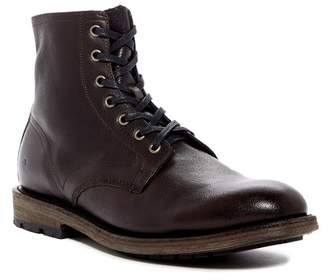 Frye Bowery Lace-Up Leather Boot