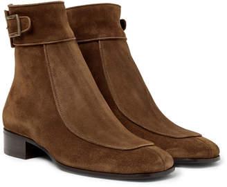 Saint Laurent Miles Suede Boots