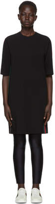 Gucci Black Webbing T-Shirt Dress
