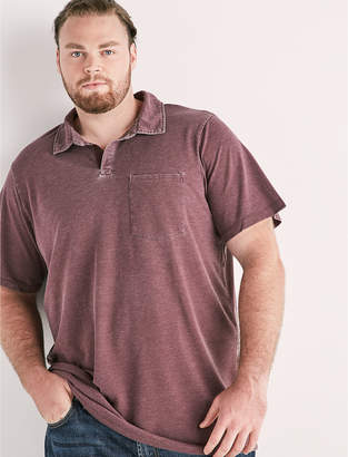 Lucky Brand Big and Tall Burnout Polo