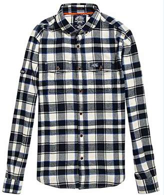 Superdry Men's Men's Winter WASHBASKET Shirt
