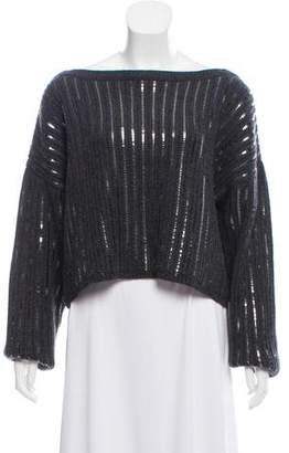 Michael Kors Cashmere Long Sleeve Top