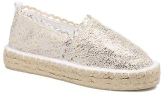 Colors of California Women's Lara 2 Wedge heel Espadrilles in Silver