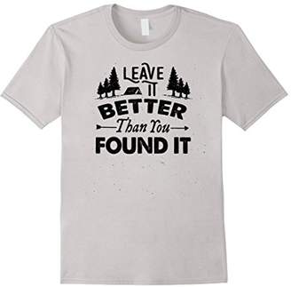 Leave It Better Than You Found It T-Shirt - Scout