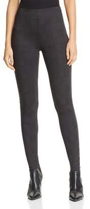 Aqua Plaid Ponte Skinny Pants - 100% Exclusive