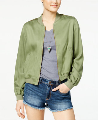 Jessica Simpson Shauna Embroidered Bomber Jacket $79.50 thestylecure.com