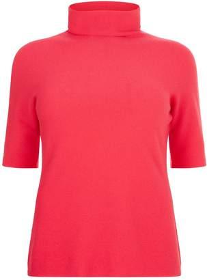 Marina Rinaldi Short Sleeve Cashmere Sweater