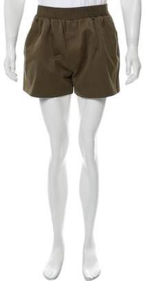 Calvin Klein Collection Elasticized Waistband Jogger Shorts