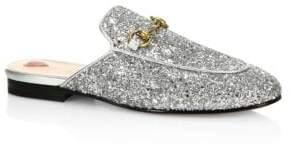 Gucci Princetown Glitter Mules