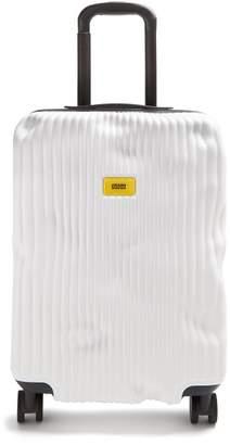 Crash Baggage - Stripe 55cm Cabin Suitcase - Womens - White