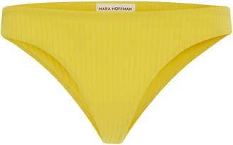 Mara Hoffman Kay Ribbed Bikini Briefs