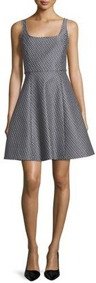 Theory Trekana Patterned A-Line Dress $345 thestylecure.com