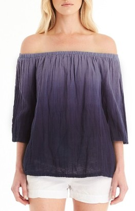 Women's Michael Stars Off The Shoulder Top $118 thestylecure.com
