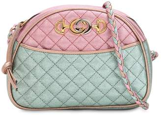 Gucci Small Two Tone Quilted Leather Bag