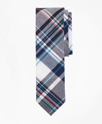 Brooks Brothers Plaid Madras Tie