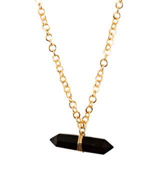 Tiana Jewel - Goddess Smokey Quartz Choker Necklace Siena Collection