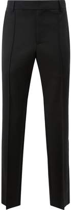 Yang Li fringed pleat detailed trousers