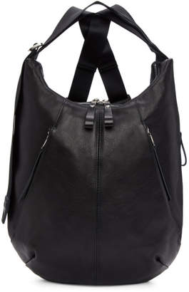 Master-piece Co Master Piece Co Black Leather Wispy Backpack