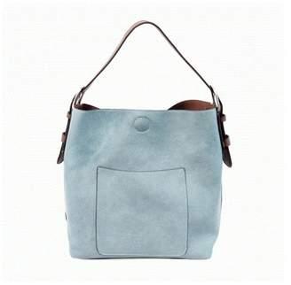 Joy Accessories Denim Hobo Handbag