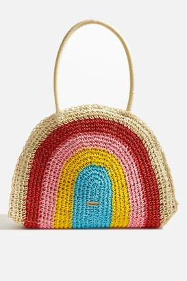 Topshop Monique Rainbow Tote Bag by Skinnydip