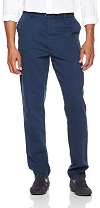 Wood Paper Company Men's Regular Fit Extended Tab Comfort Stretch Chino Pant