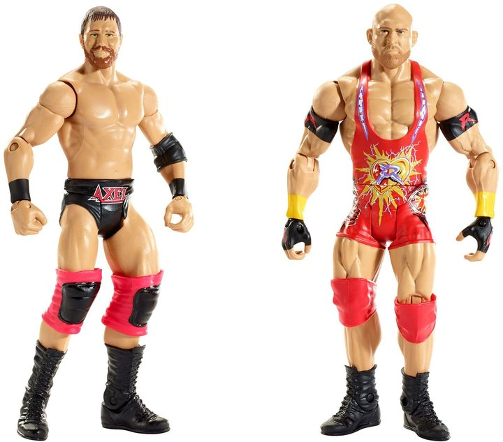WWE Battle Pack: Ryback & Curtis Axel 2-Pack