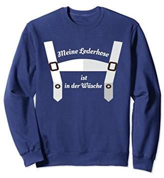 Laundry by Shelli Segal Oktoberfest Lederhosen Wash Funny Sweatshirt