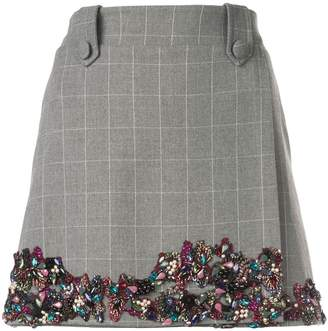 PatBO embellished mini skirt