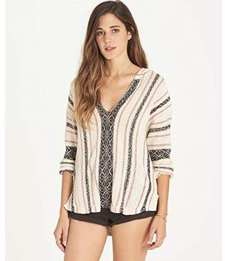 Billabong Women's Sand Dune Baja Style Hooded Sweater