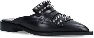 Alexander McQueen Studded Loafers