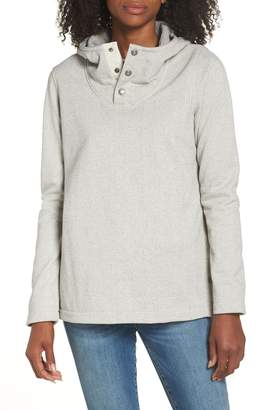 The North Face Knit Stitch Fleece Hoodie