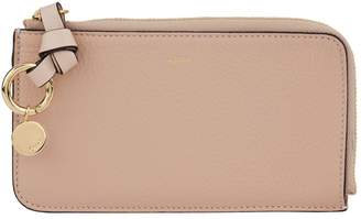 Chloé Leather Alphabet Zipped Wallet