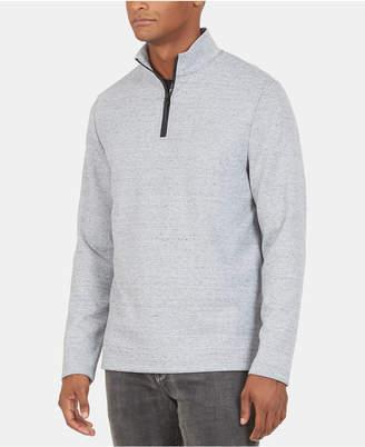 Kenneth Cole New York Men Regular Fit Half Zip Sweater